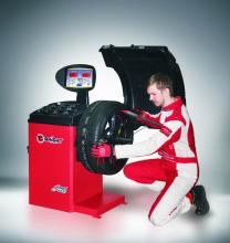 Vyvažovačka BRIGHT CB68 - automatický vyvažovací stroj 3D