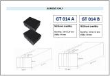 Gumové bloky universální pro nůžkové zvedáky 80mm