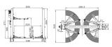 !!!AKCE!!! - TPB4000ES  dvousloupový hydraulický zvedák