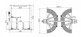 !!!AKCE!!! - TPC4000ES  dvousloupový hydraulický zvedák